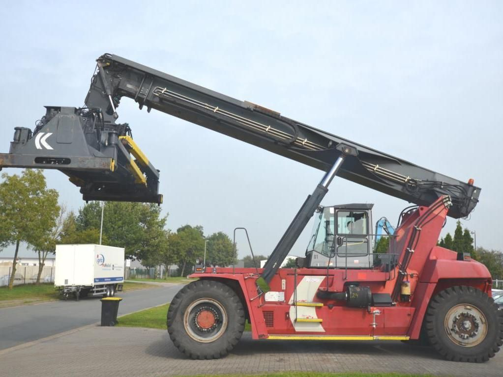 Kalmar-DRF450-60C5X-Vollcontainer Reachstacker