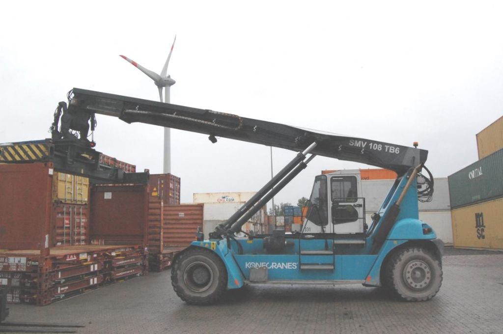Leer Container Reachstacker-SMV-SMV108TB6