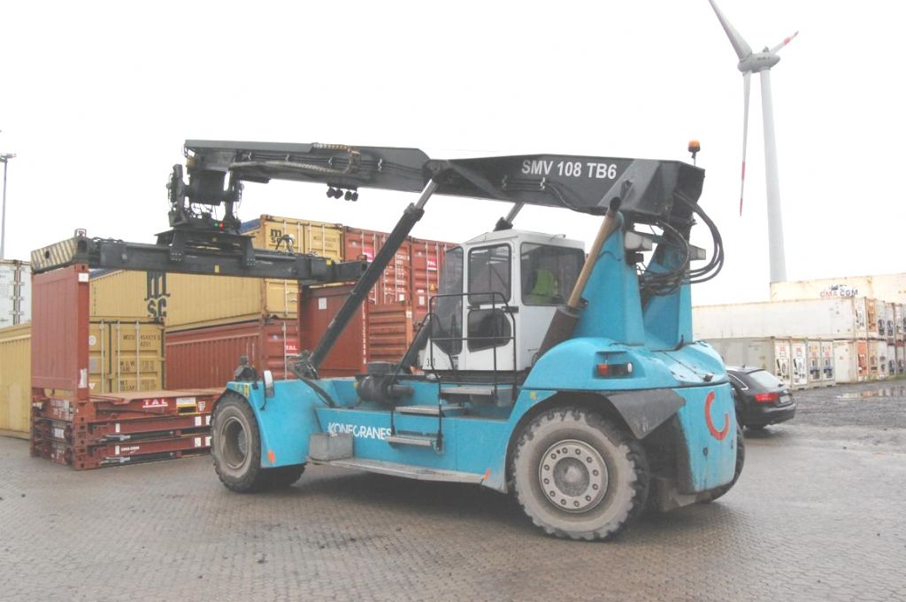 SMV SMV108TB6 Leercontainer Leercontainer Reachstacker