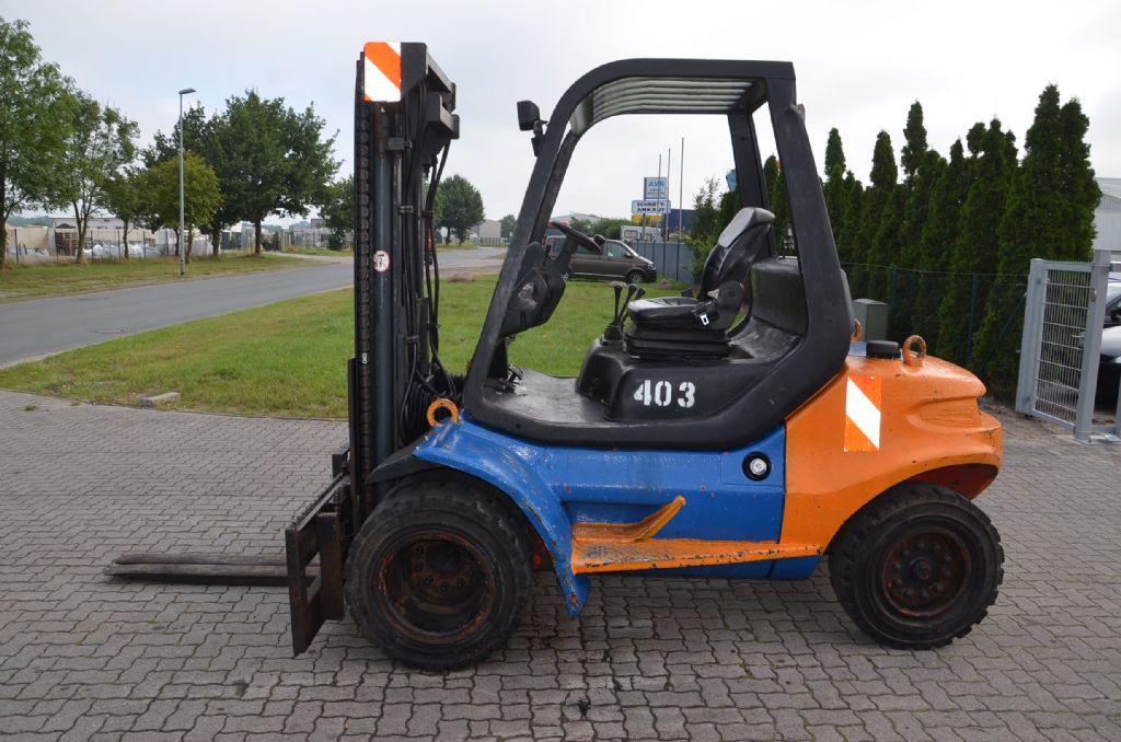 Linde H45D-03 Diesel Forklift www.hinrichs-forklifts.com