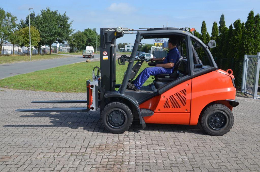 Linde H50D-02 Diesel Forklift www.hinrichs-forklifts.com