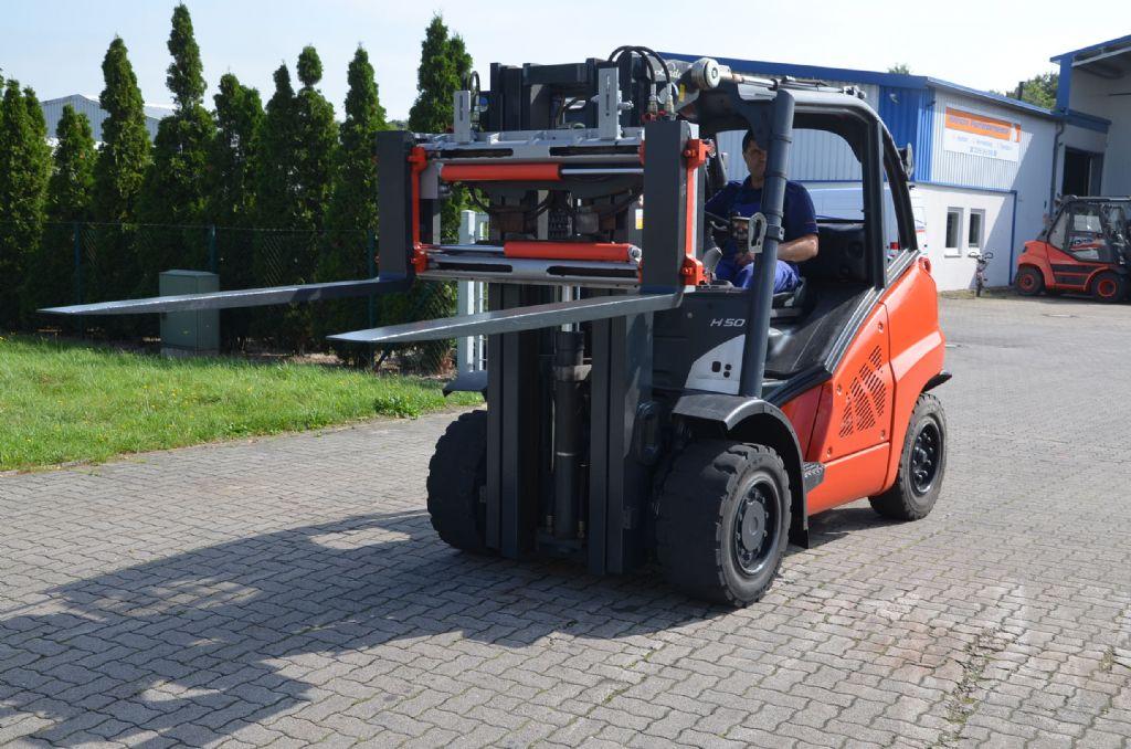 Linde H50D-02 Diesel Forklift