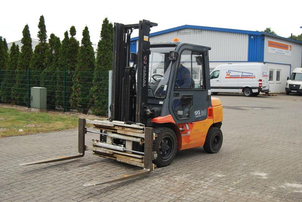 Toyota 62-7FDF30 Diesel Forklift