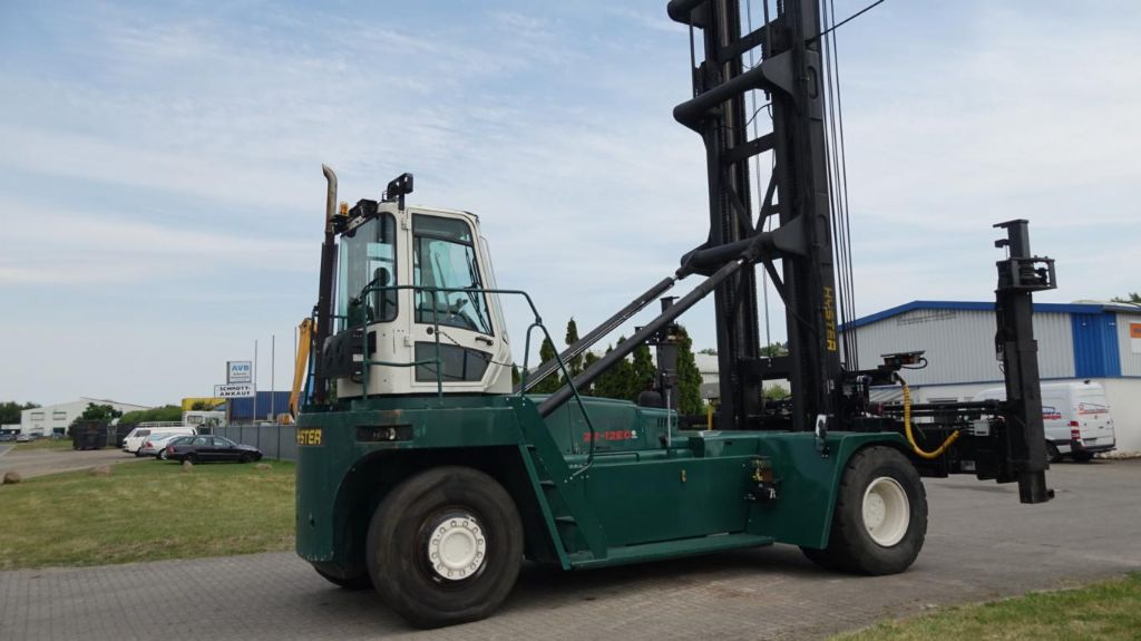 Hyster H22.00XM-12EC Empty Container Handler www.hinrichs-forklifts.com