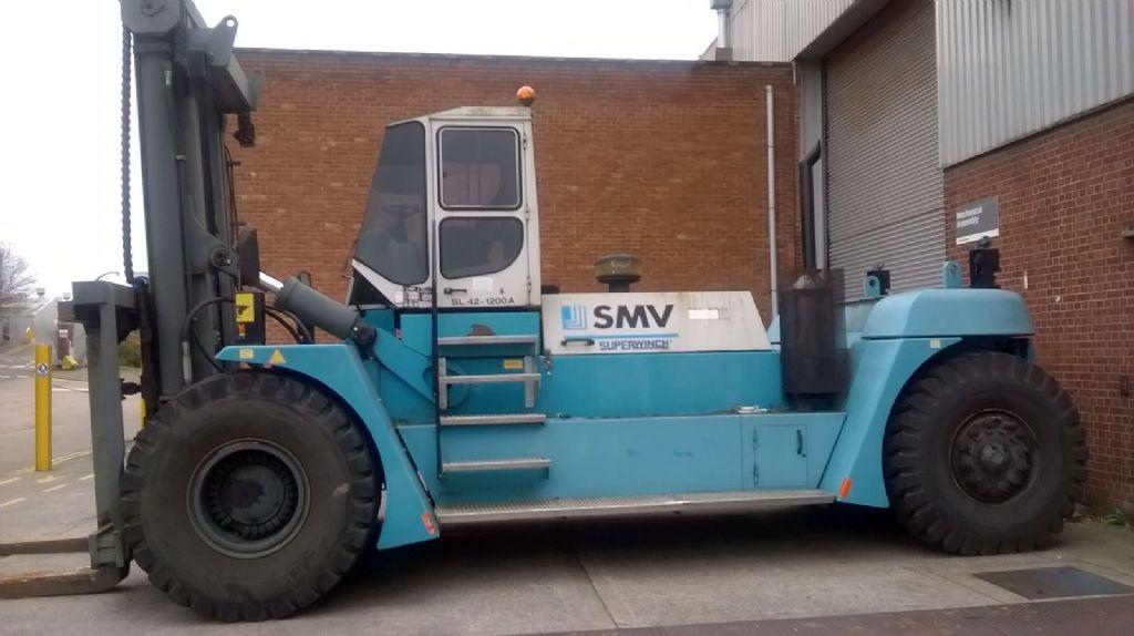 SMV SL42-1200A Heavy Forklifts www.hinrichs-forklifts.com