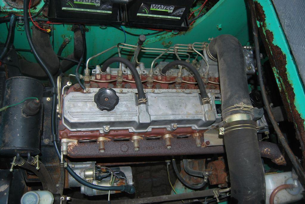 Mitsubishi FD60 Diesel Forklift
