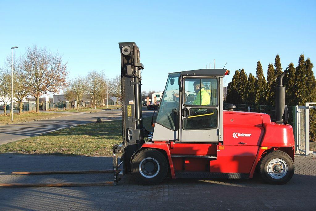 Kalmar DCE80-9 Diesel Forklift www.hinrichs-forklifts.com