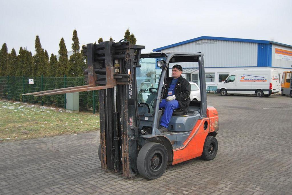 Toyota 028FDF25 Diesel Forklift
