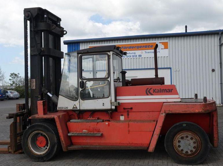 Kalmar DCD120-12 Diesel Forklift www.hinrichs-forklifts.com