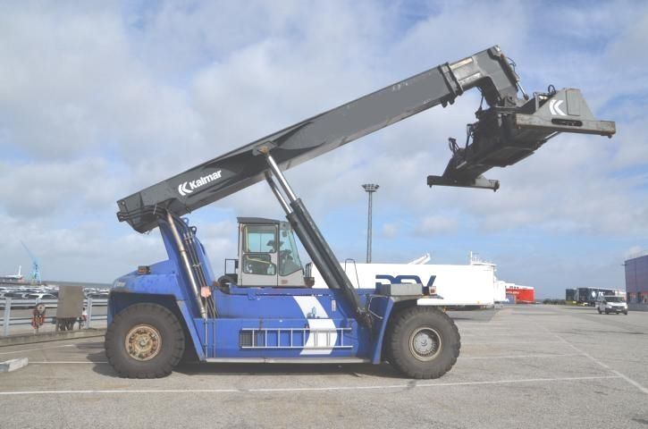 Kalmar DRF450-60S5 Full-container reach stacker www.hinrichs-forklifts.com