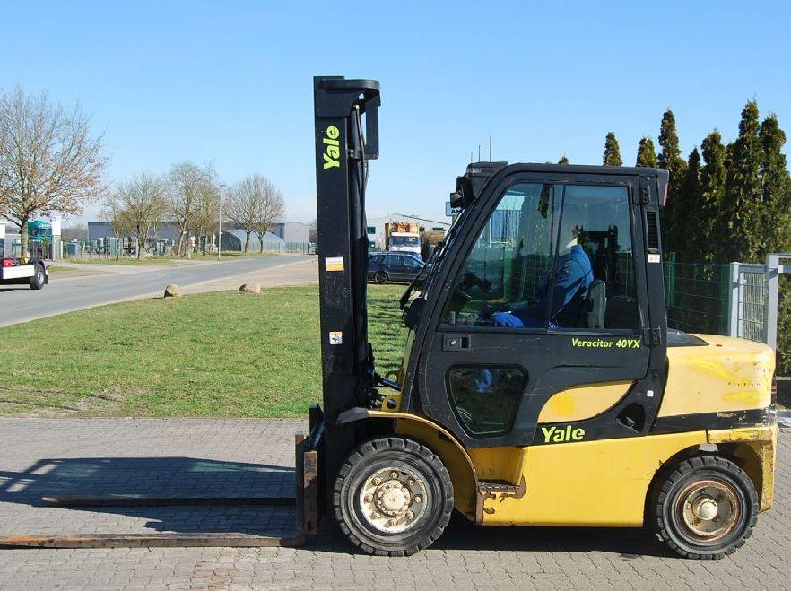Yale GDP40VX5 V2771 Diesel Forklift www.hinrichs-forklifts.com