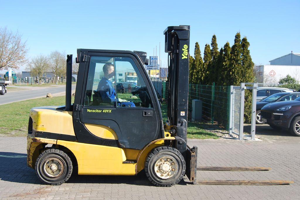 Yale GDP40VX5 V2771 Diesel Forklift