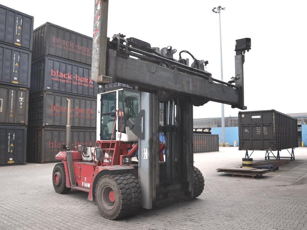 CVS Ferrari F16W Empty Container Handler www.hinrichs-forklifts.com
