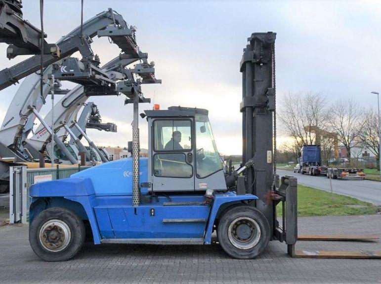 Kalmar DCE120-12 Heavy Forklifts www.hinrichs-forklifts.com