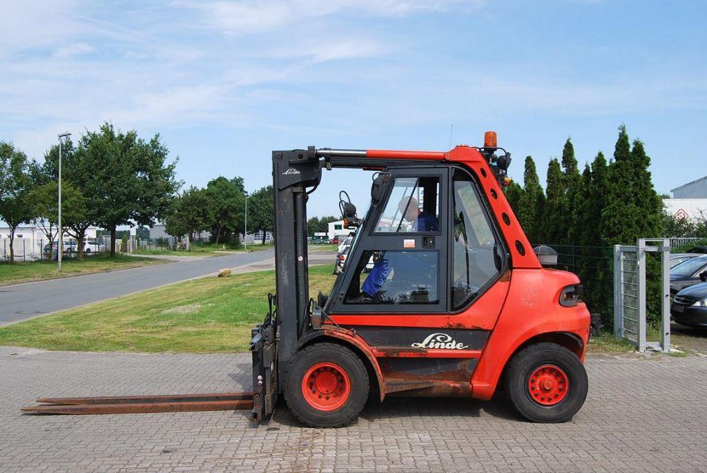 Linde H80D-02 Diesel Forklift www.hinrichs-forklifts.com
