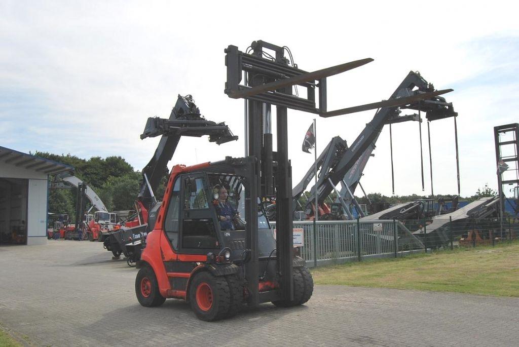 Linde H80D-02 Diesel Forklift