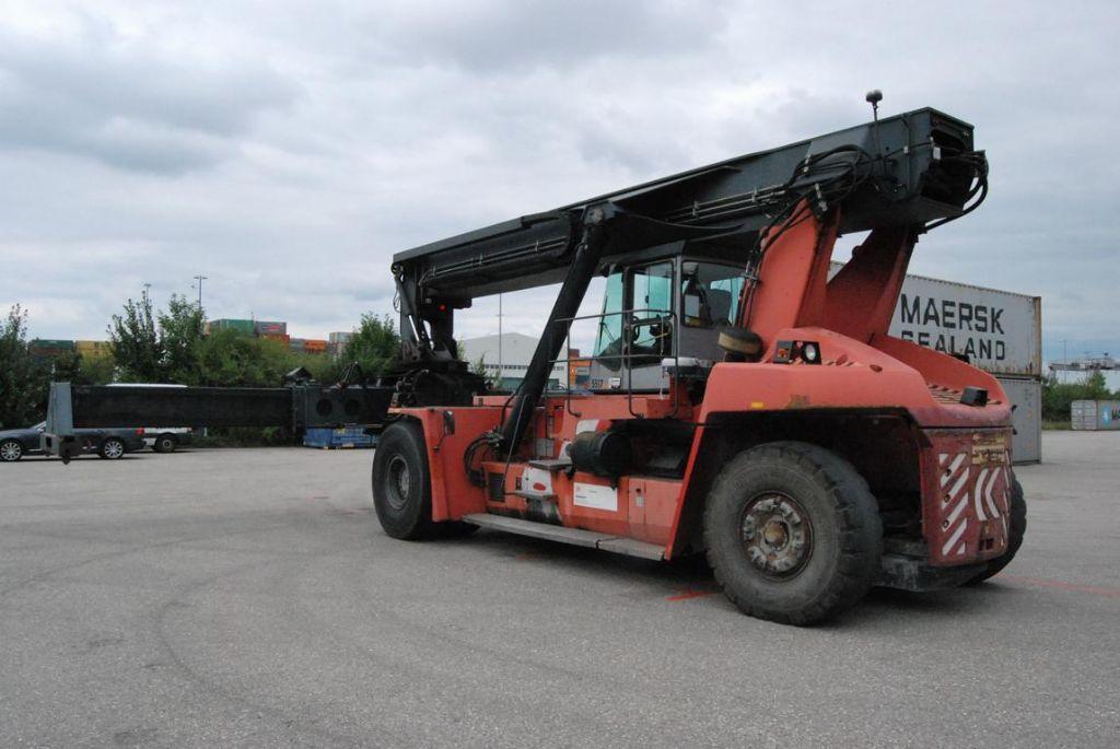 Kalmar DRF420-60S5 Vollcontainer Reachstacker