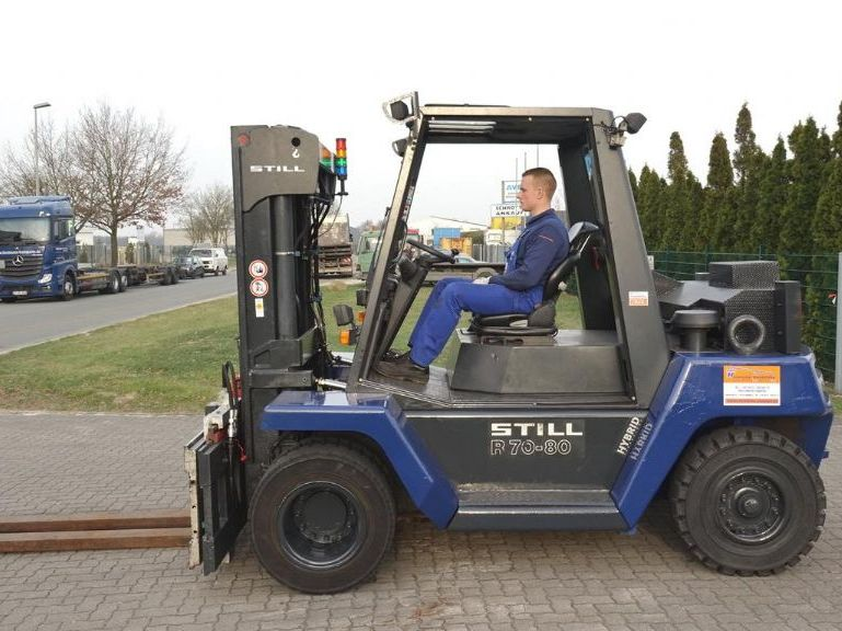 Still R70-80 Diesel Forklift www.hinrichs-forklifts.com