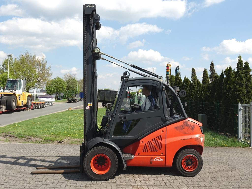 Linde H50D Diesel Forklift www.hinrichs-forklifts.com