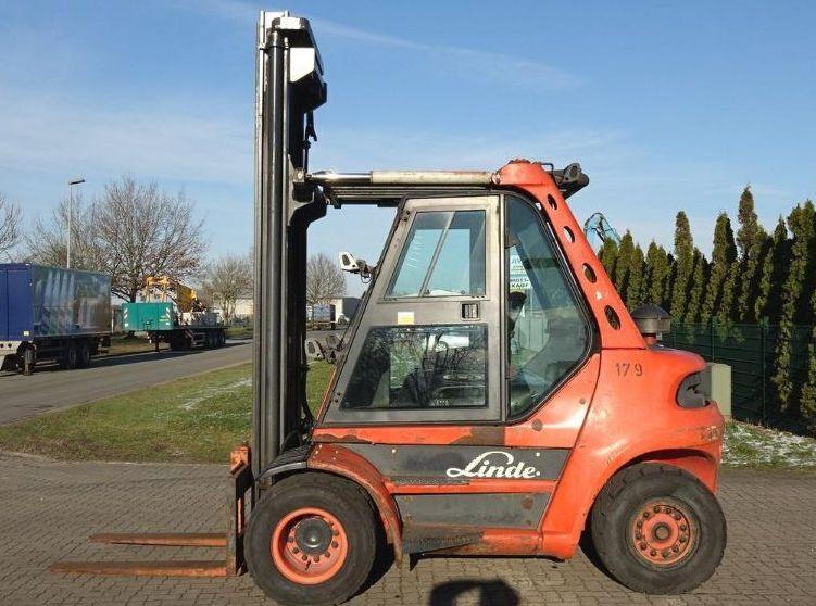 Linde H60D-03 Diesel Forklift www.hinrichs-forklifts.com