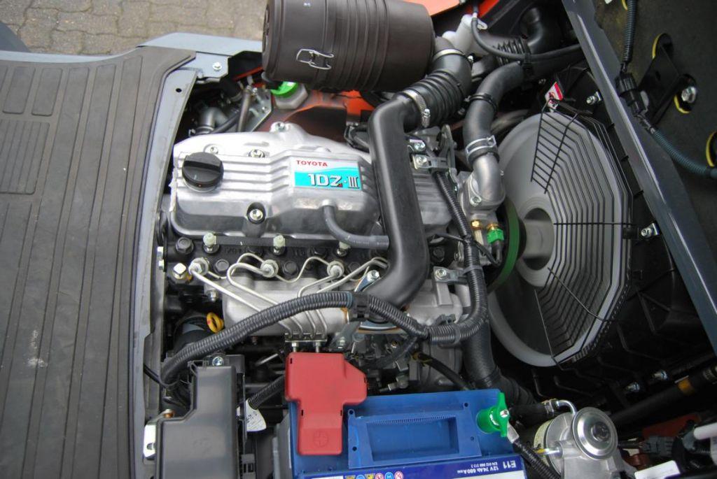 Toyota 02-8FDF30 Diesel Forklift