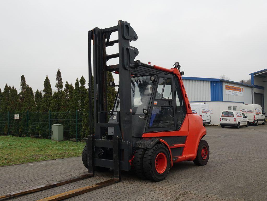 Linde H80D-900 Diesel Forklift www.hinrichs-forklifts.com