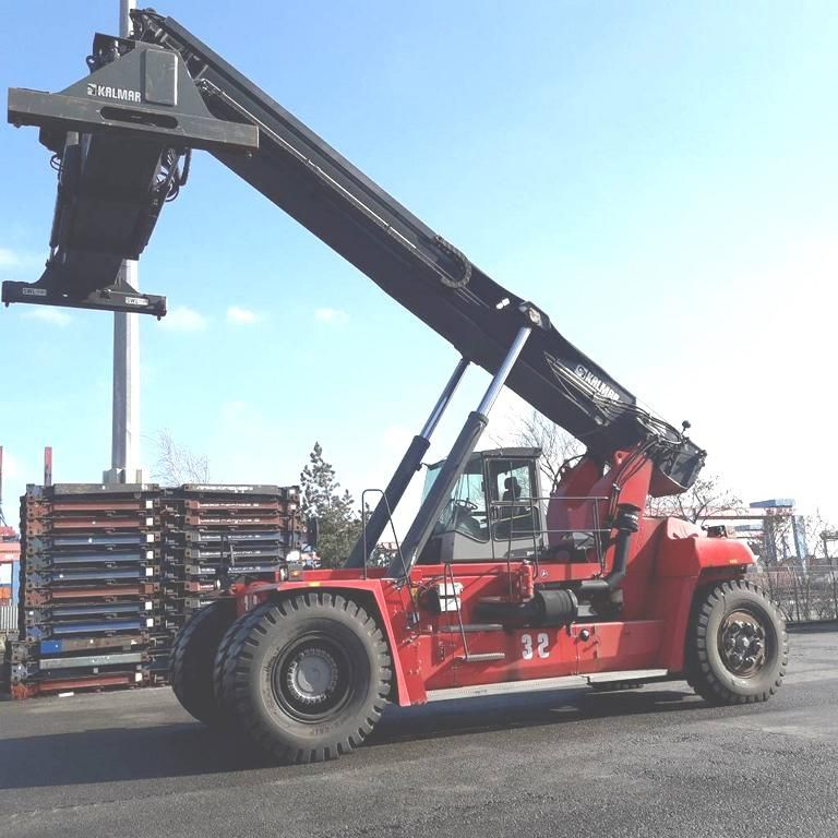 Kalmar DRF450-65S6X Full-container reach stacker www.hinrichs-forklifts.com