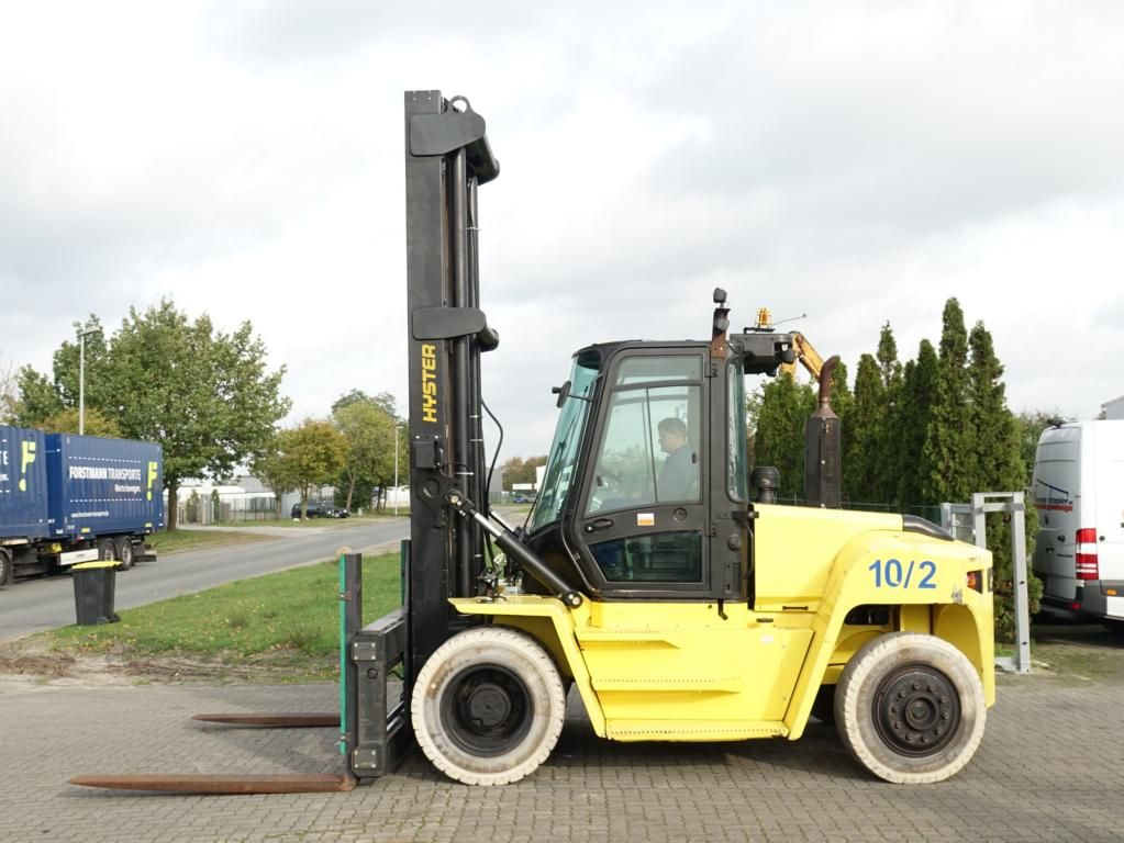 Hyster H10XMS-6 Heavy Forklifts www.hinrichs-forklifts.com
