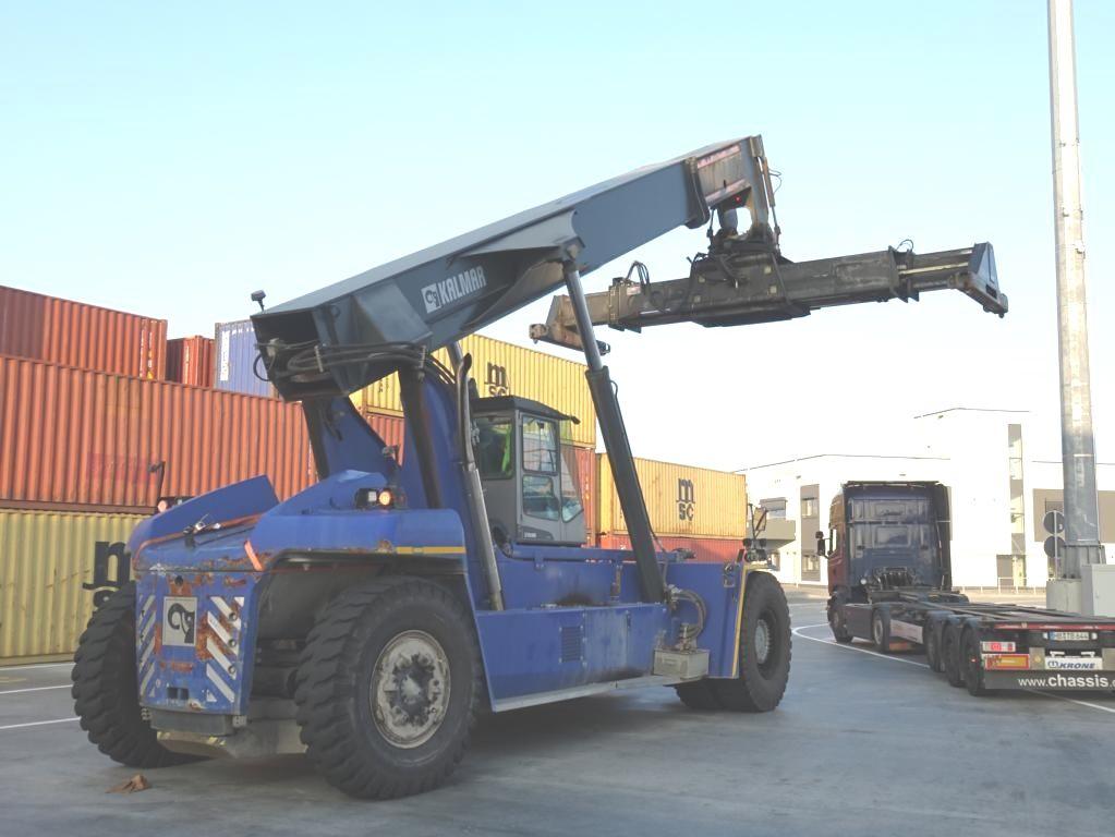 Kalmar DRF450-70S5XS Vollcontainer Reachstacker