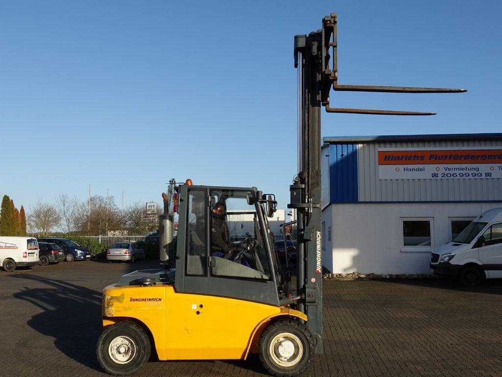 Jungheinrich DFG660 Diesel Forklift