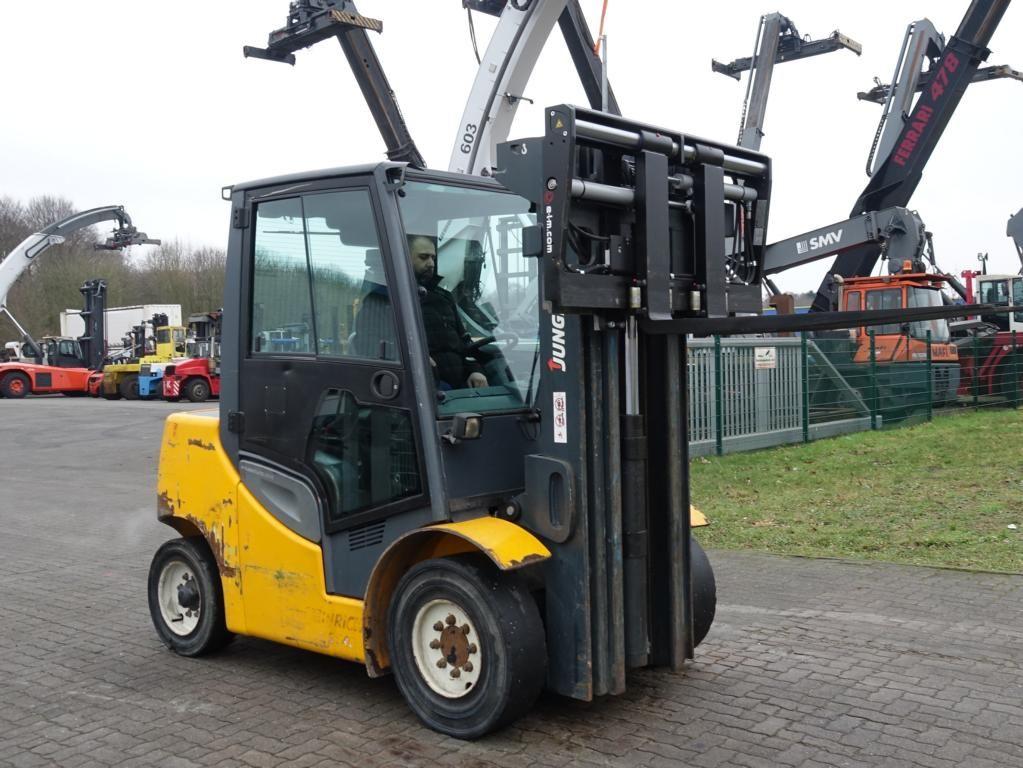 Jungheinrich DFG540S Mängel Diesel Forklift www.hinrichs-forklifts.com