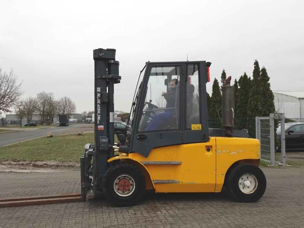 Diesel Gabelstapler-Jungheinrich-DFG670