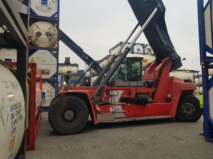 Kalmar DRF450-65S5L Full-container reach stacker www.hinrichs-forklifts.com