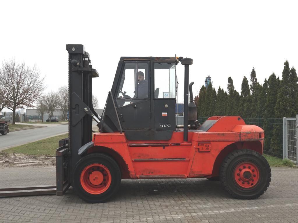 Linde H120D Heavy Forklifts www.hinrichs-forklifts.com