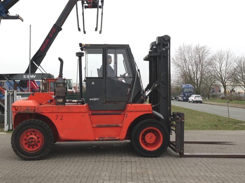 Linde H120D Heavy Forklifts