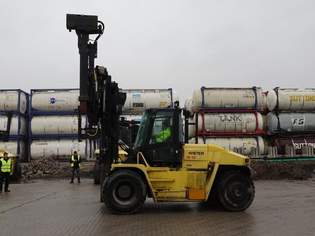 Hyster H16XMS12 Empty Container Handler www.hinrichs-forklifts.com
