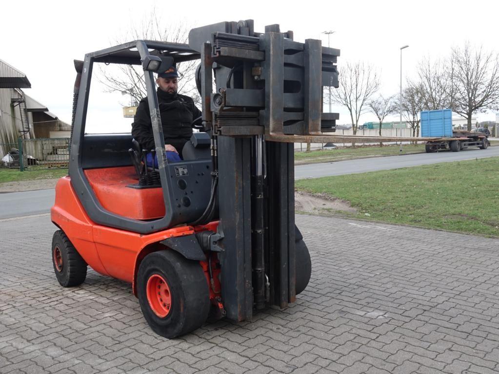 Linde H30D 351 Diesel Forklift www.hinrichs-forklifts.com
