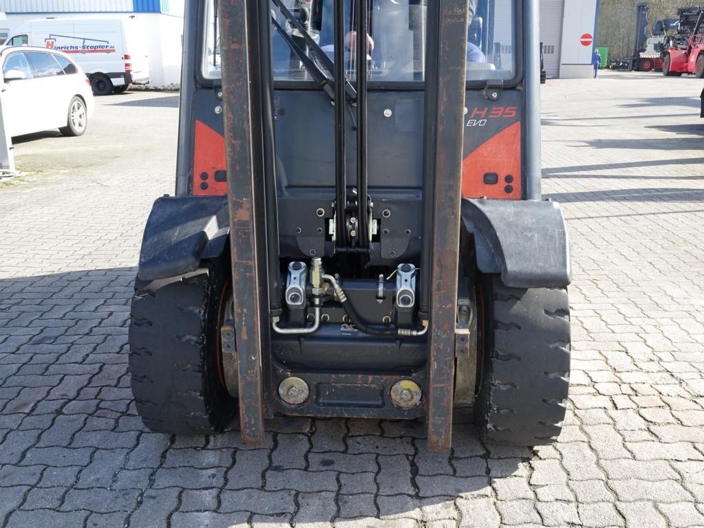 Linde H35D Diesel Forklift