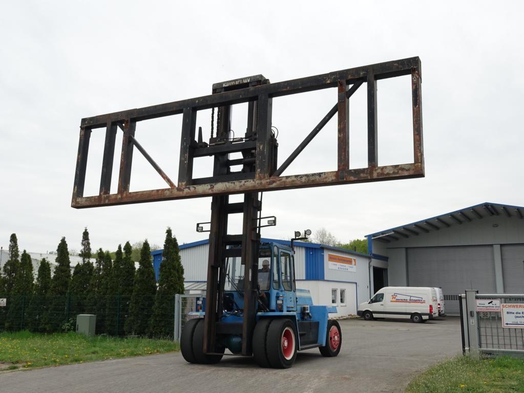 Kalmar DC12-1200 Carretilla de Carga Pesada www.hinrichs-forklifts.com