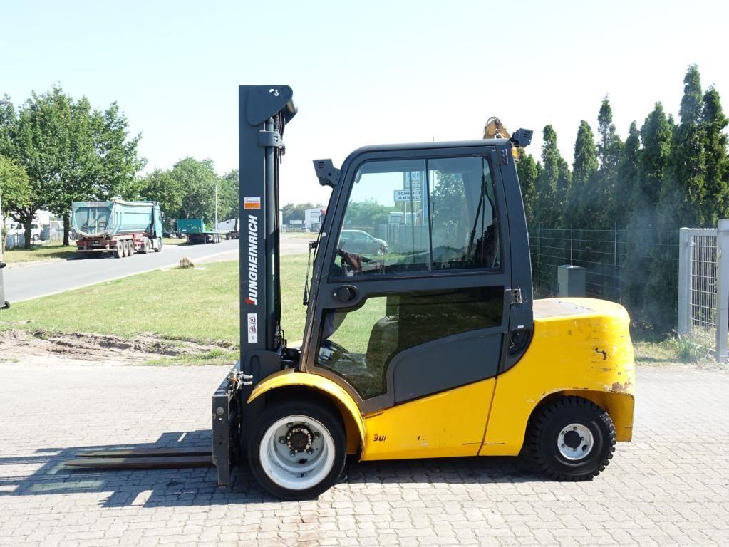 Jungheinrich DFG435 Diesel Forklift www.hinrichs-forklifts.com