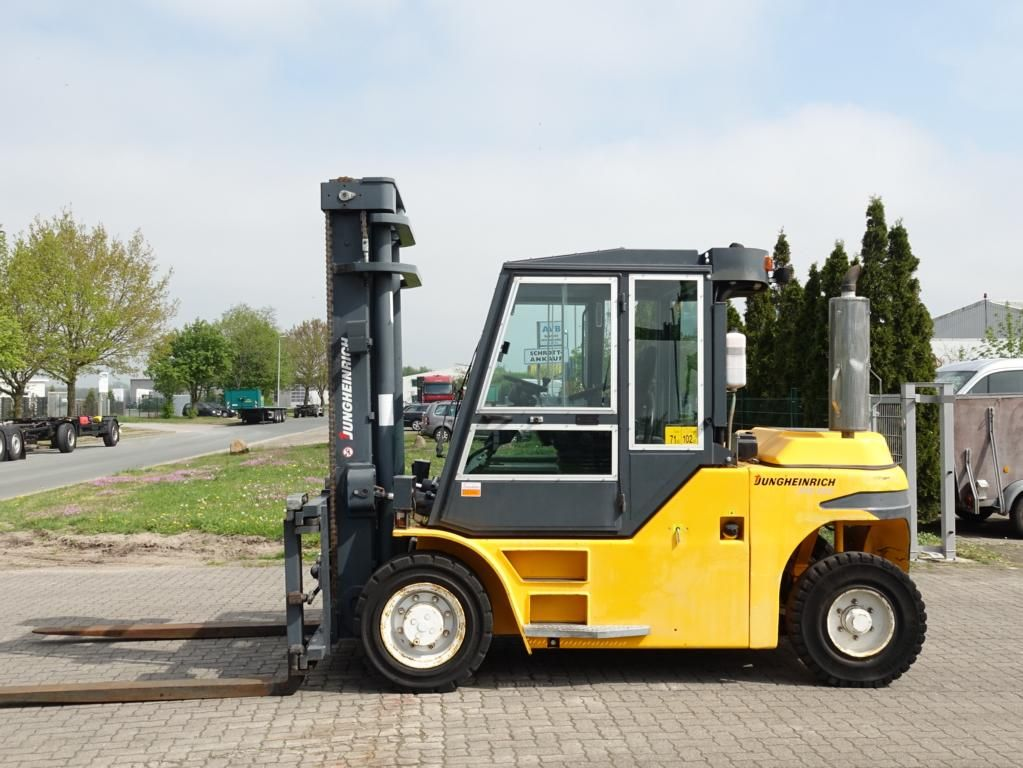 Jungheinrich DFG660 Diesel Forklift www.hinrichs-forklifts.com
