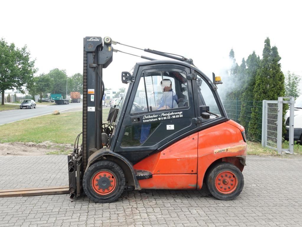 Linde H40D Diesel Forklift www.hinrichs-forklifts.com