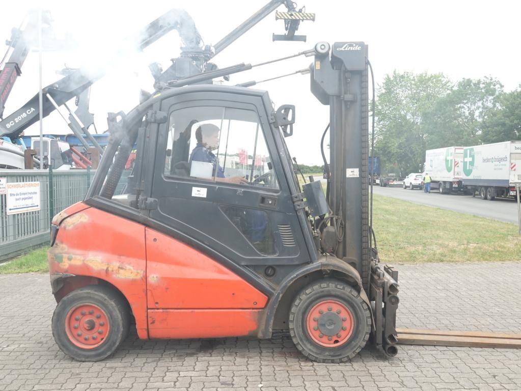 Linde H40D Diesel Forklift