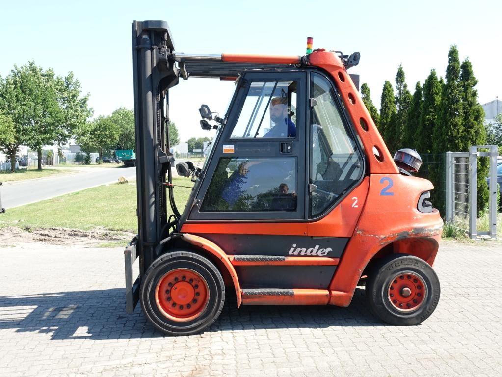 Linde H80D-03 Diesel Forklift www.hinrichs-forklifts.com