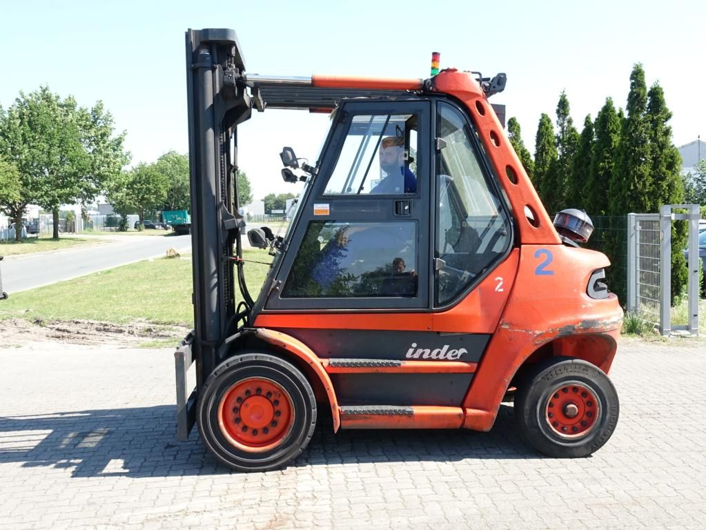 Linde H80D-03 Дизельный погрузчик www.hinrichs-forklifts.com