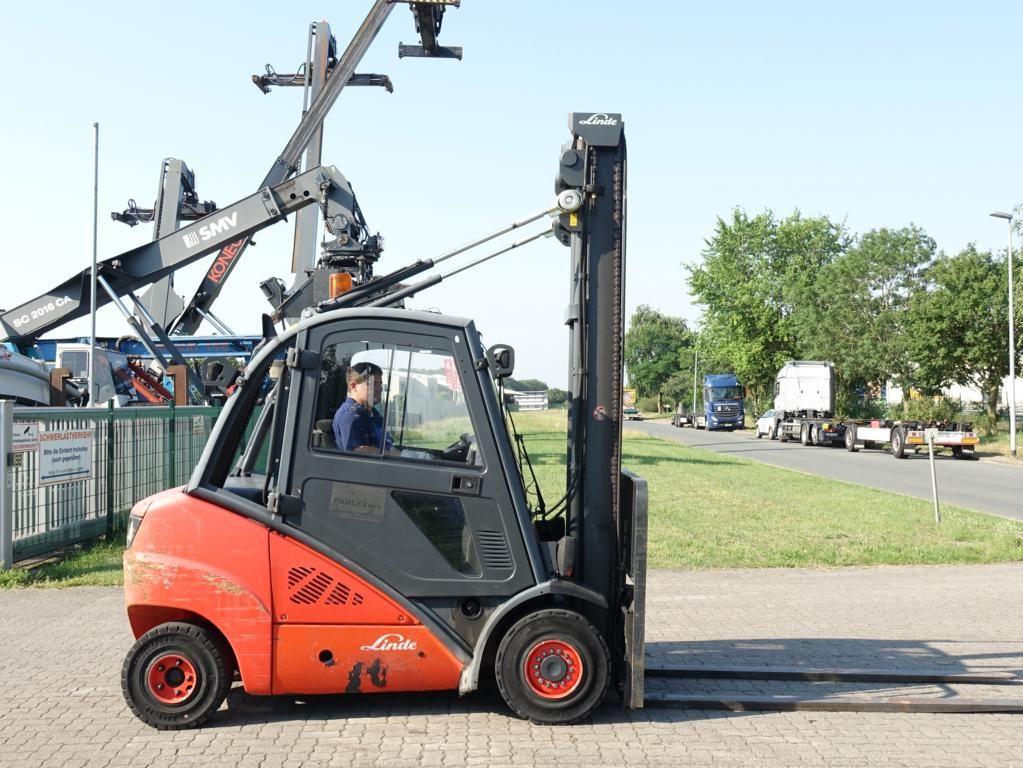 Linde H35D Diesel Forklift www.hinrichs-forklifts.com
