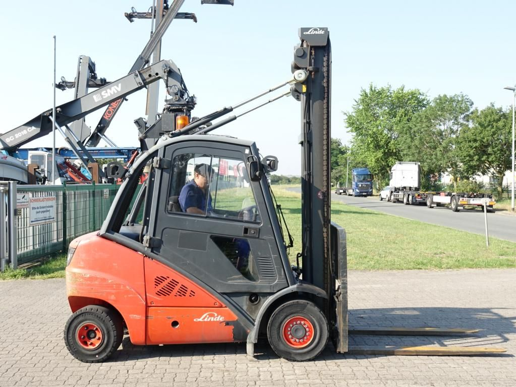 Linde H35D Дизельный погрузчик www.hinrichs-forklifts.com