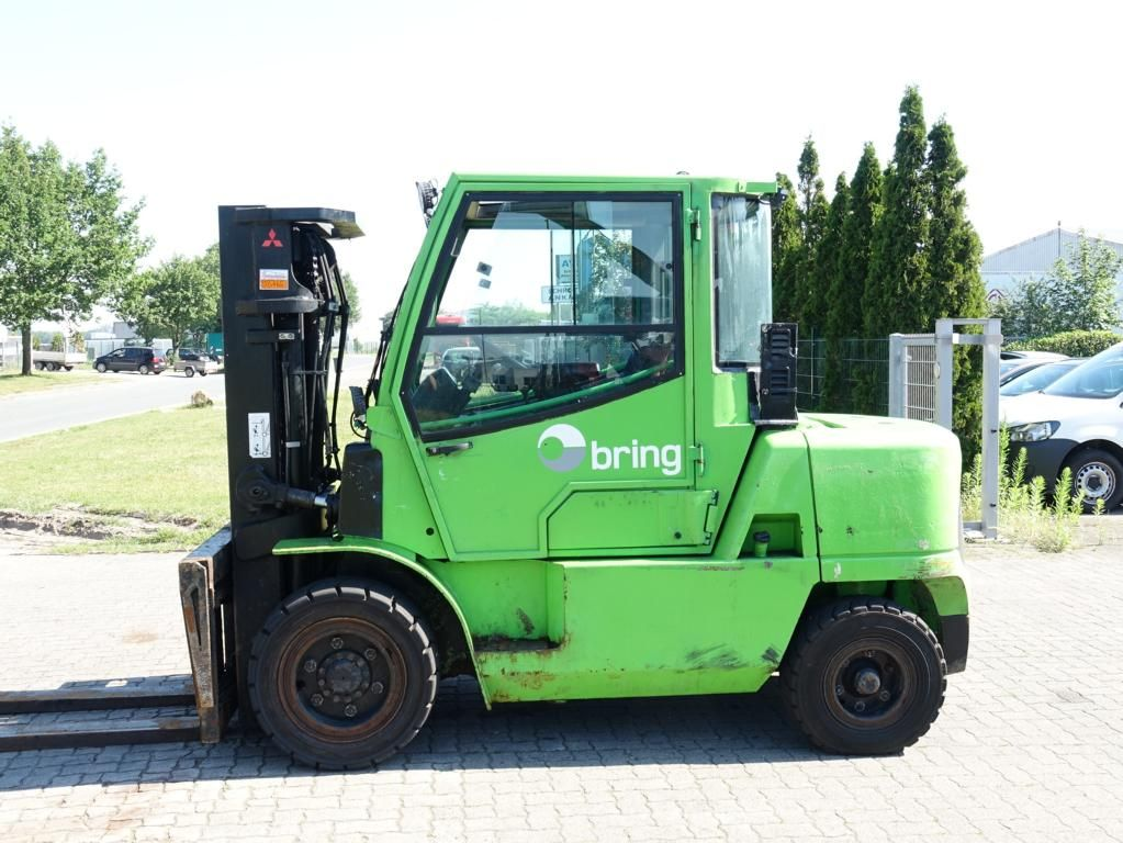 Mitsubishi FD45KZ Diesel Forklift www.hinrichs-forklifts.com