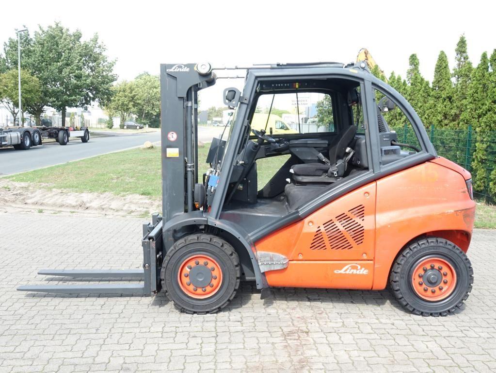 Linde H45D-01 Diesel Forklift www.hinrichs-forklifts.com