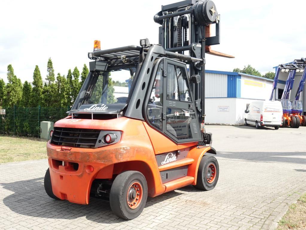 Linde H60D-01 Diesel Forklift